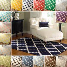 Safavieh Handmade Moroccan Cambridge Silver Wool Rug - Overstock™ Shopping - Great Deals on Safavieh 7x9 - 10x14 Rugs