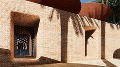 Galeria de Sistema de coberturas côncavas coleta a água da chuva em climas áridos - 7