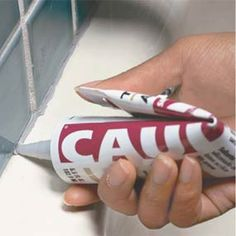 How to remove and replace caulk
