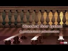 How to construct a traditional wood plank deck over sloping or uneven surfaces with a pedestal system