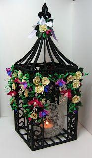 Appel Quilling Garden: Quilled Fuschia Gazebo - SOOOOO pretty - i just love this…