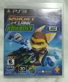 Ratchet & Clank: Full Frontal Assault game for Sony Playstation 3 PS3 -fast ship   eBay