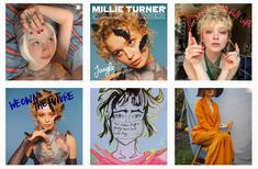Millie Turners Instagram, Very creative, includes her album covers and art work Will Turner, Lineup, Album Covers, Art Work, Princess Zelda, Running, Night, Creative, Character