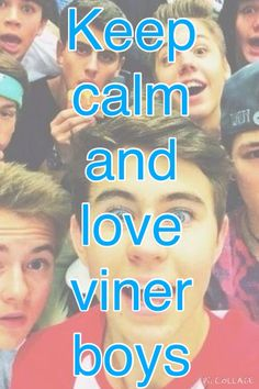 Got to love those viner boys!!❤️☺️