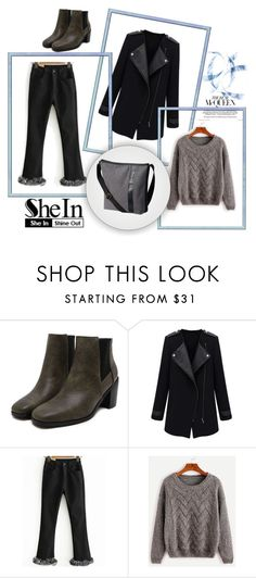 """SheIn 8/IV"" by hedija-okanovic ❤ liked on Polyvore featuring SOREL and shein"