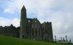 Rock of Cashel in Tipperary.  I wonder if any of my ancestors are buried in that cemetery...