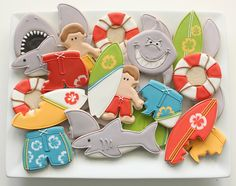Shark Cookies and Surfers | Flickr - Photo Sharing!