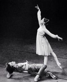 Gelsey Kirkland and Rudolf Nureyev in 'Le Corsaire' — American Ballet Theatre.