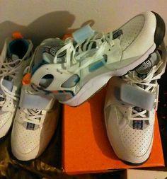 a4382e751469 NIKE AIR TRAINER HUARACHE PRM QS SUPER BOWL RETRO NIKES SUMMER COLORS  CLASSIC Retro Sneakers