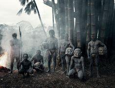 Asaro,Indonesia and Papua New Guinea