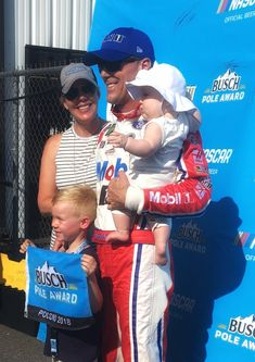 Little late posting. 🤷🏼 where pops is starting as of now. What I do know Our first family pic of 4 at the pole board I totally hid the big spit up that just happened Found a booger on my neck right pic Not afraid to rock workout gear all day 😬 Kevin Harvick, Workout Gear, Nascar, Peace And Love, Baseball Cards, Shit Happens, Families, Sports, Rock