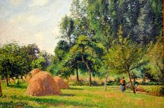 Camille Pissarro - A landscape painting at New York Metropolitan Art Museum | Flickr - Photo Sharing!