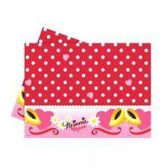 Parti Beta - Minnie Mouse Daisies Plastik Masa Örtüsü #minnie #mouse #tablecover