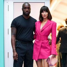 See the complete winners list from the CFDA Awards for 2017 by clicking the link in our bio @bellahadid with @off____white's Virgil Abloh  via VOGUE AUSTRALIA MAGAZINE OFFICIAL INSTAGRAM - Fashion Campaigns  Haute Couture  Advertising  Editorial Photography  Magazine Cover Designs  Supermodels  Runway Models