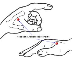Acupuncture For Migraine Pressure points for a headache. Press down with thumb and hold for 1 minute at a time. Headache gone! Need to try this next time I have a headache! Natural Headache Remedies, Natural Home Remedies, Natural Healing, Pressure Points For Headaches, Sinus Pressure, Point Acupuncture, Shiatsu, How To Relieve Headaches, Migraine Relief