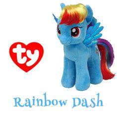 Rainbow Dash My Little Pony Beanie Baby! Ty Beanie Boos ccfa7d8b20eb