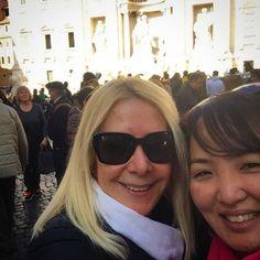 Que encontro fantástico com a @vilmaloureiro ontem!!!!! Conversamos e nos divertimos horrores! Ela mostra as suas viagens no Snapchat  vilmaloureiro  . Veja mais no Snapchat Em_Roma  #Roma #europe #instatravel #eurotrip #italia #italy #rome #trip #travelling #snapchat #emroma#viagem #dicas #ferias #dicasdeviagem #brasileirospelomundo #viajandopelomundo #brasileirosporai