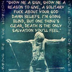 Bring Me The Horizon Lyrics