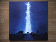 Interstellar, oil painting