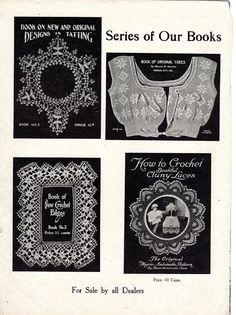 "Deknoden Crochet Book No.1, A practical Method, ""Marie Antoinette"" , Mo, 1915"
