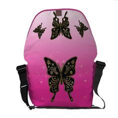 A bolsa mensageiro das borboletas