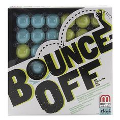 Bounce-Off Game - AKA Beer Pong for kids