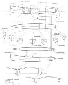 Chesapeake Light Craft Outrigger Junior Sailboat Kit and Plans