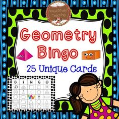 **WAIT** This unit is part of my GEOMETRY GALORE BUNDLE.  In this bundle you get 5 Geometry games, printable activities, and an assessment for 40% the individual item price!This will quickly become one of your students' favorite games and they will beg to play it over and over!Great Hands-On Geometry Activity!This activity works great for whole class, small group instruction, reteaching, on-going practice and so much more!Shapes Covered in this Unit Include: Sphere, Cube, Cone, Rectangular…