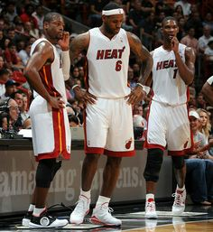 The Miami Big 3 my fav team and players Michael Jordan is my ultimate favorite