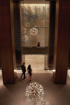 Hotel Deal Checker - Four Seasons Toronto at Yorkville Lounge Design, Spa Design, Space Interiors, Hotel Interiors, Resorts, Hotel Lobby Design, Public Hotel, Lobby Reception, Lobby Interior