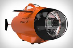 So you've got a GoPro and a thirst for underwater footage. Unless you're wearing scuba gear, you're probably not going to be able to take it very far down. That's where the Seawolf GoPro Submarine comes in. This submersible vehicle...