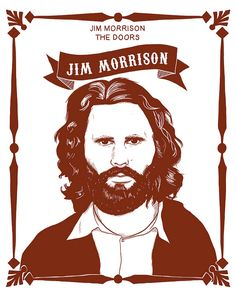 jim morrison by Mr Malinois The Uninvited, The Doors Jim Morrison, Drawing Sketches, Drawings, Light My Fire, Blog, Music Stuff, Hard Rock, Rock And Roll
