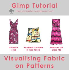 Tutorial: Visualising Fabric on Patterns – Part Two (Gimp) « the curious kiwi
