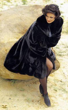 Blackglama mink... bought from furrier in Chicago.  #furfashion #mink #blackglama