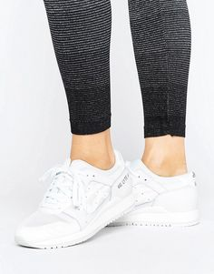 low priced fe048 d43dc Asics Gel Lyte III Sports Performance Sneaker - White Sneaker Bianche,  Sneakers Adidas, Sneakers