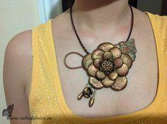 Мастер-класс ожерелье из кожи