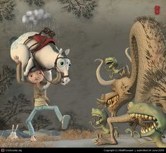 Wumonster by MattRoussel :) | 3D | CGSociety