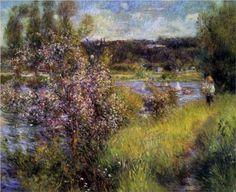 The Seine at Chatou - Pierre-Auguste Renoir - 1881