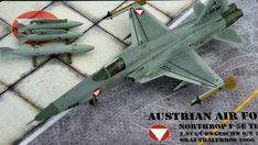 Maßstab: 1:72   Einzelteile: 51   Länge: 200mm   Spannweite: 112mm Tiger Ii, Us Navy, Scale Models, Austria, Airplane, Air Force, Fighter Jets, World, Beautiful Models