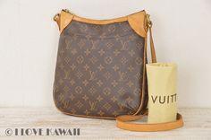 Louis Vuitton Monogram Odeon PM Shoulder Bag M56390
