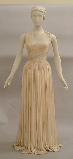 Evening Dress Madame Grès (Alix Barton) (French, Paris 1903–1993 Var region)