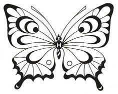 Бабочка пергамано