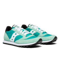 best website d77ba 3a4a1 Saucony Seafoam   White Jazz Low Pro Sneaker - Women   zulily Sea Foam,  Sneaker