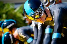 Gallery 2013: Through the lens of Sonoko Tanaka - Chris Froome manages a smile before the TTT at the Tour de France
