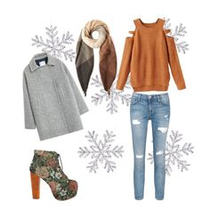 """""""winter is coming"""" by buzuk-andjela on Polyvore featuring Jeffrey Campbell, MANGO, Current/Elliott and Paul Smith"""