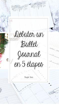 Démarrer un Bullet journal en quelques étapes !