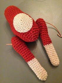 byoestergaard: Hæklet abe Hygge, Chrochet, Fingerless Gloves, Arm Warmers, Blog, Snefnug, Accessories, Amigurumi, Crochet