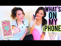 What's on my iPhone 6 + How I edit my Instagram Pictures | Niki and Gabi - YouTube