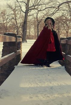 perfect for Halloween! Or Christmas! Or just for fun! Cape :)