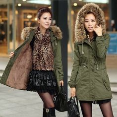 (35.00$)  Watch here - http://aii48.worlditems.win/all/product.php?id=32800216947 - New 2017 women's cloth Winter coat hooded parka fur collar jacket  thickened fur liner coat adjustable waist chaquetas mujer